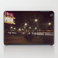 Small Town, Fast Lights iPad Case