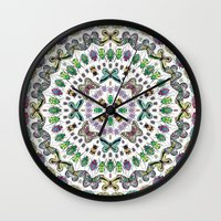 Beetles, Bugs And Butter… Wall Clock