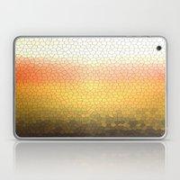 orange sparkle Laptop & iPad Skin