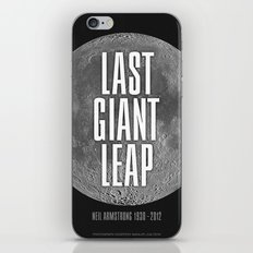 Last Giant Leap iPhone & iPod Skin