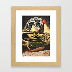 Once a Fertile Land Framed Art Print