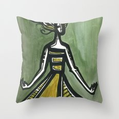 The Spin Throw Pillow