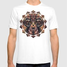 Caliban Mens Fitted Tee White SMALL