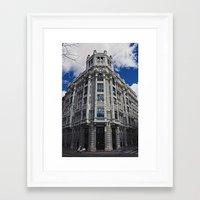 Madrid, Spain Framed Art Print