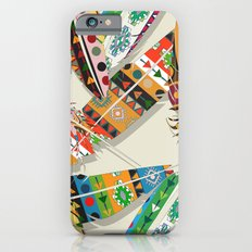 Boho Feather Pattern Slim Case iPhone 6s