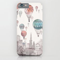 Voyages Over San Francisco iPhone 6 Slim Case