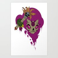 #^$&ing Voodoo Magic Art Print