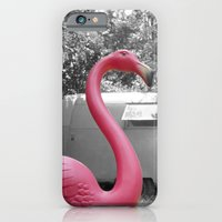 iPhone & iPod Case featuring Pink Flamingo by Hilary Walker