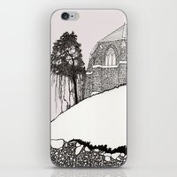 St. Vigeans (black And W… iPhone & iPod Skin