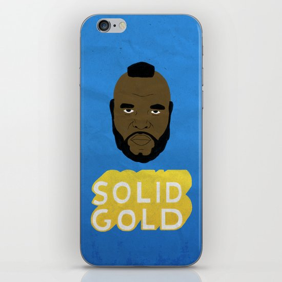 Solid Gold iPhone & iPod Skin