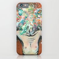 iPhone & iPod Case featuring The Vulnerability Evoked in Failing to Capture the Mind's Ceaselessly Combusting Ephemera by Daryll Peirce