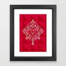Himmeli Framed Art Print