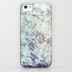 Marble blue iPhone 5c Slim Case