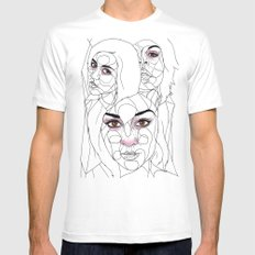 The Guns of Love Disastrous Mens Fitted Tee SMALL White