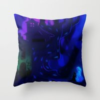 Gil And Nevy Throw Pillow