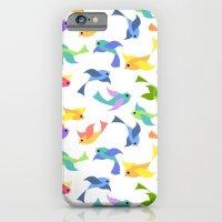 Ditsy birds iPhone 6 Slim Case