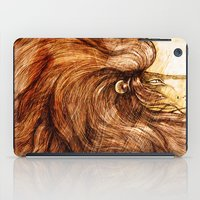 Une Crinière de Lion (the haughty and brilliant lion) iPad Case