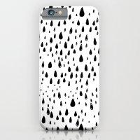 Polka rain drops iPhone 6 Slim Case