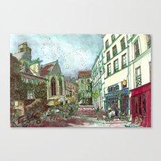 Parisia Canvas Print