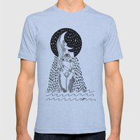 luna llorona Mens Fitted Tee Athletic Blue SMALL