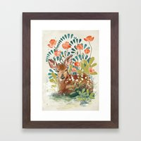 In The Grass Framed Art Print