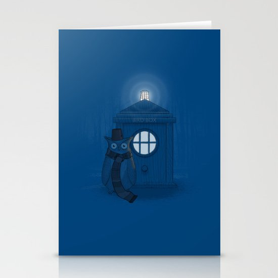 Dr Who Who? Stationery Card