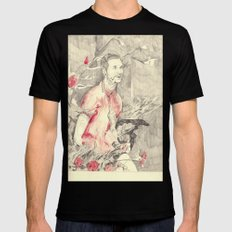 RiFF RAFF with ReD ROSeS Mens Fitted Tee Black SMALL