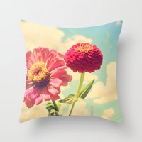 Lovely flower Throw Pillow