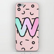 Wacky W iPhone & iPod Skin