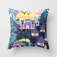 Latin Nature Throw Pillow