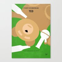 No519 My TED Minimal Mov… Canvas Print