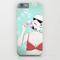 iPhone & iPod Case featuring Bubbles by Cisternas