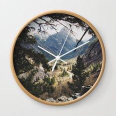San Juan Forest Wall Clock