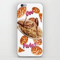 Que Pasta? iPhone & iPod Skin