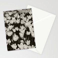 Field of white butterflies  Stationery Cards