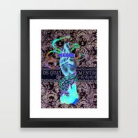 Reality Framed Art Print