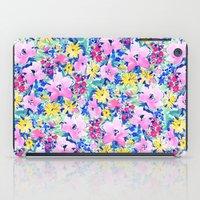 Floreale Blue iPad Case