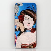Augusta -- The Tattooed Lady iPhone & iPod Skin