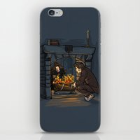 The Witch In The Firepla… iPhone & iPod Skin