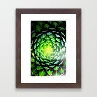 Fat plant Framed Art Print