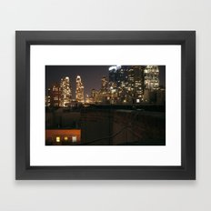 Rooftop Classic Framed Art Print