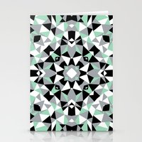Abstract Kaleidoscope Mi… Stationery Cards