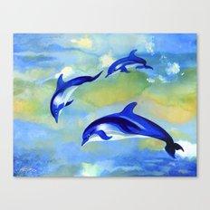 Dolphin Fantasy Canvas Print