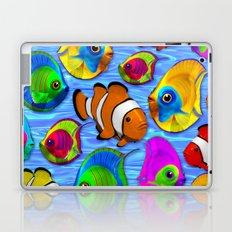 Tropical Fishes Pattern Laptop & iPad Skin