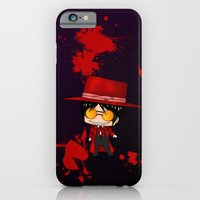iPhone & iPod Case featuring Chibi Alucard by artwaste