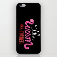 The Worm Has Turned. iPhone & iPod Skin