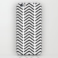 Graphic_Black&White #4 iPhone & iPod Skin
