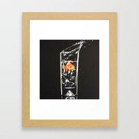 Goldie. Framed Art Print