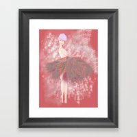 Who's That Ga-Girl! Framed Art Print
