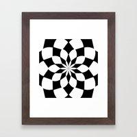 Kaleidoscope 'K2 SQ' Framed Art Print